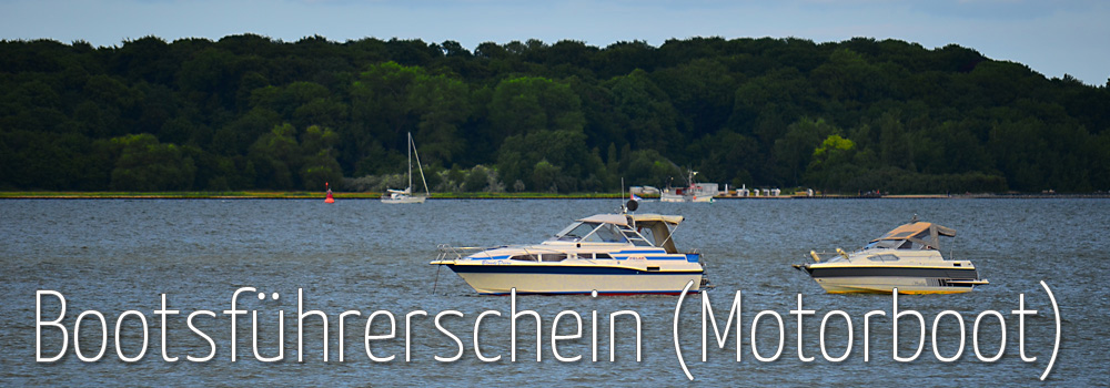 Bootsführerschein für Motorboot