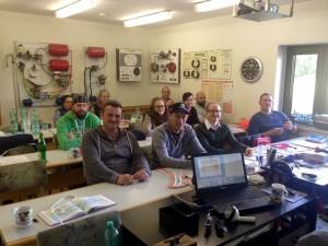 Unsere Teilnehmer in Ebersdorf