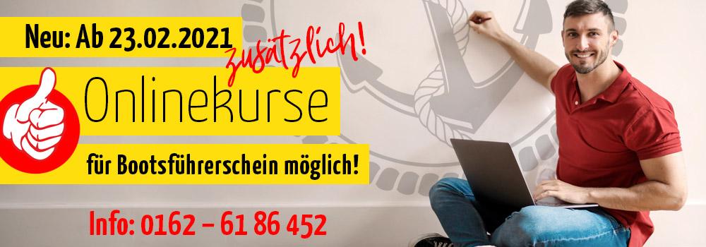 Onlinekurs Bootsführerschein
